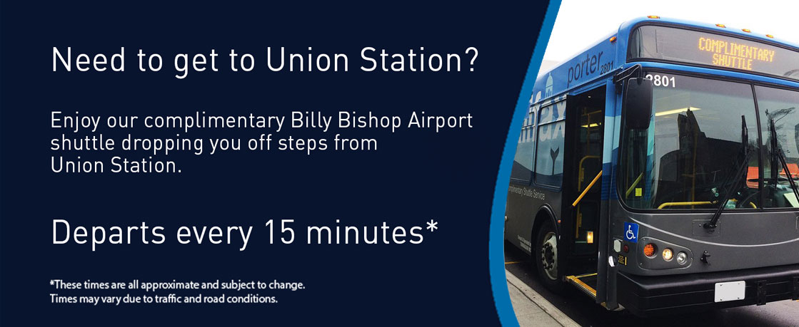 Pick Up and Drop Off – Getting To & From | Billy Bishop